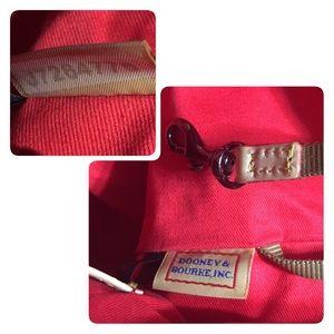 Dooney & Bourke Bags - Dooney & Bourke Coated Cotton Chevron Tote Black